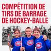 Le CH et Tim Hortons présentent un tournoi de hockey-balle