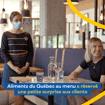 Aliments du Québec au menu souligne la réouverture des restaurants