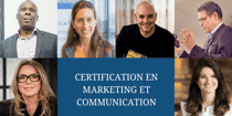 Certification en marketing et communication (45h sur 2 mois)