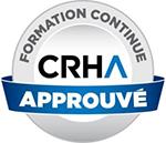 Logo CRHA accrédité