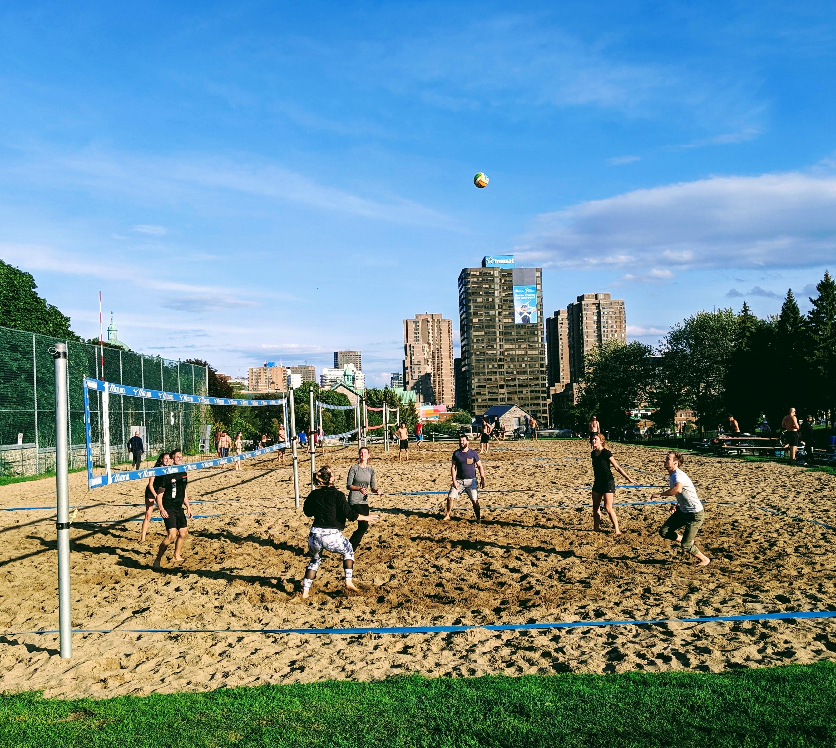 Bec- tournoi volley