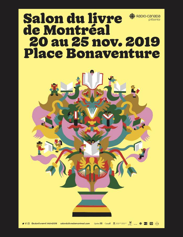 Le Salon du livre de Montréal 2