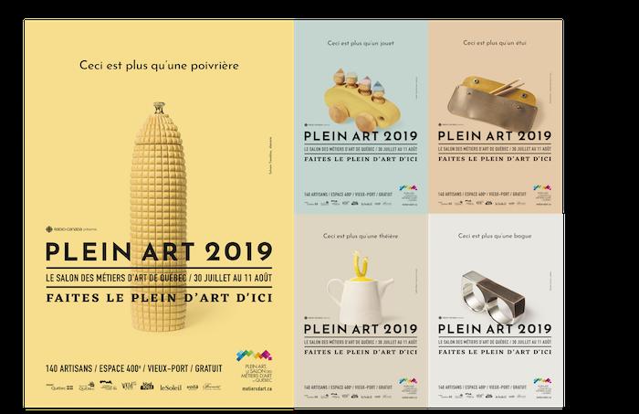 Lancement de la nouvelle campagne publicitaire pour Plein Art 2019 ...