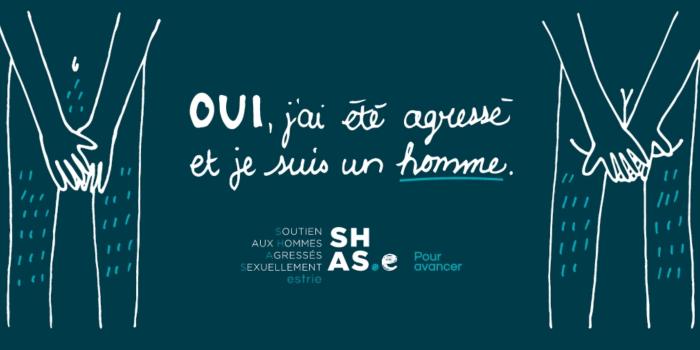 Une campagne pour les hommes victimes d'agressions sexuelles