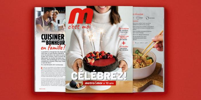 EDIKOM signe le magazine «M c'est moi» de Metro