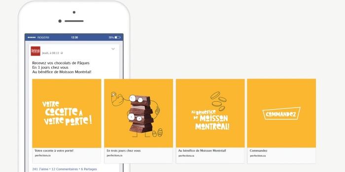 Perfection partagera ses profits avec Moisson Montréal