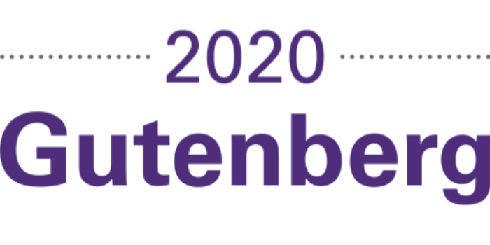 Deux nouvelles catégories pour la 38e édition du Concours Gutenberg