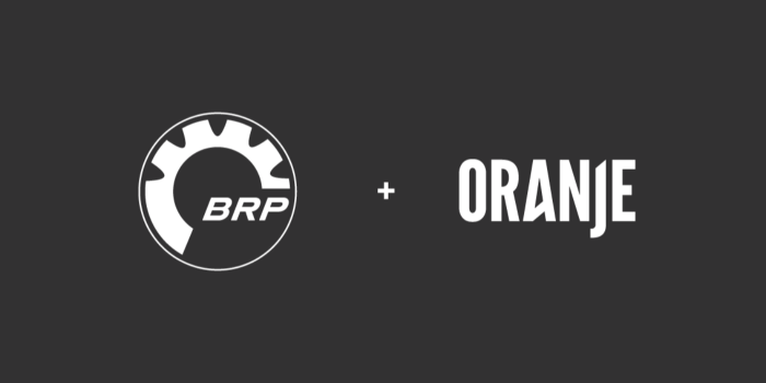BRP renouvelle sa collaboration avec Oranje
