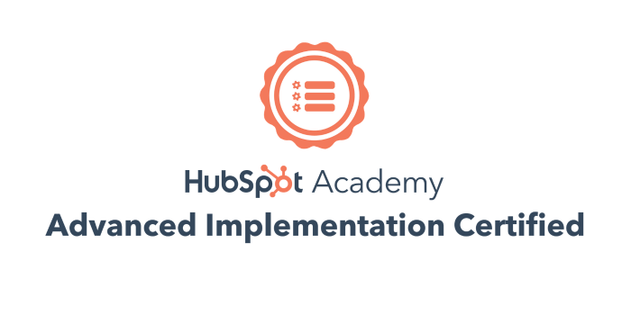 Parkour3 obtient la certification HubSpot Advanced CMS Implementation