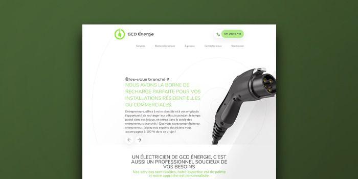 Alias Clic réalise le site web d'une entreprise verte