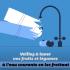Illustration et motion design pour encourager les mesures d'hygiène