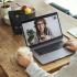 Le café tête-à-tête pour une tasse en virtuel