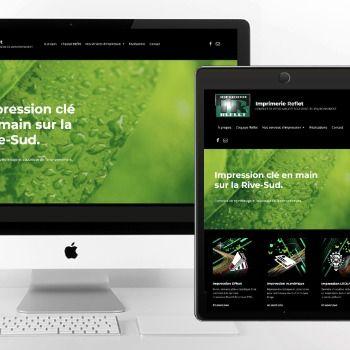 Un virage vert pour Imprimerie Reflet grâce à Charte Créative