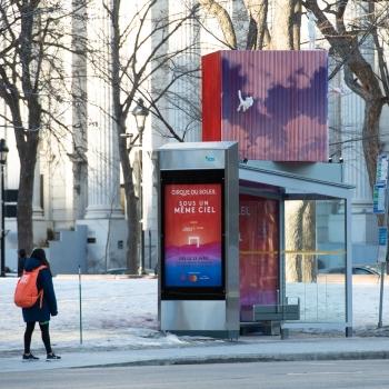 Québecor fait la promotion du prochain spectacle du Cirque du Soleil