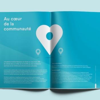 Minimal signe la nouvelle image de marque de l'Académie Antoine-Manseau