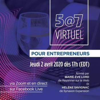5@7 Virtuel pour Entrepreneurs
