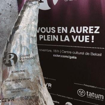 Alias Clic nommée entreprise «Coup de coeur du jury» au Gala Grand Richelois