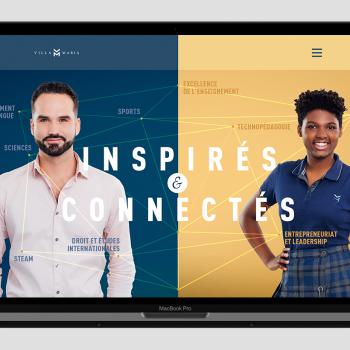 Camden conçoit les portes ouvertes interactives du Collège Villa Maria