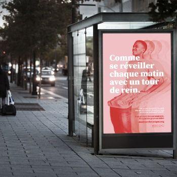 Une campagne de Upperkut sensibilise la population à la douleur chronique