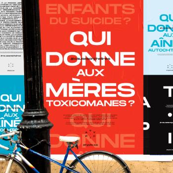 Une campagne d'affichage d'Atypic met en lumière des causes mal-aimées