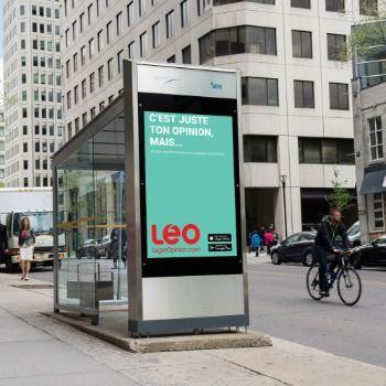 La firme Léger lance l'application mobile LEO