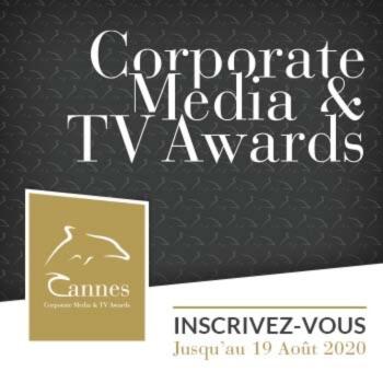 Le concours Cannes Corporate Media & TV Awards sera maintenu