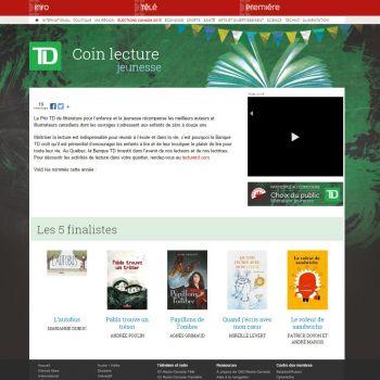CBC/Radio-Canada supporte le Prix TD de littérature canadienne pour l'enfance et la jeunesse