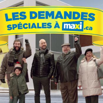 Maxi reçoit les demandes spéciales du public pour sa prochaine publicité