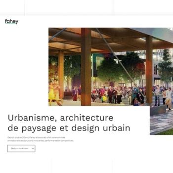 Hamak revitalise le site web de la firme Fahey