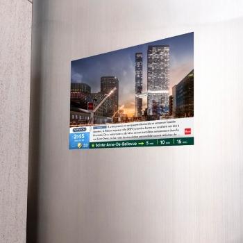 PATTISON Affichage s'associe avec Devimco Immobilier et La Presse