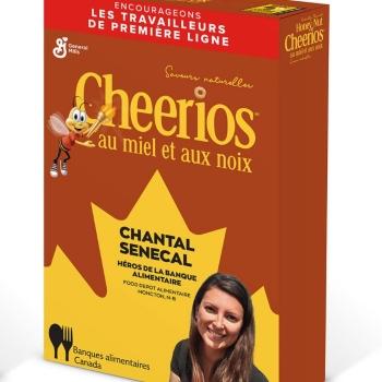 Cheerios repense les publicités des Jeux olympiques