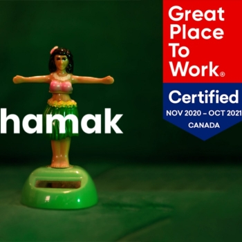 L'agence Hamak certifiée «Great Place To Work in Canada»