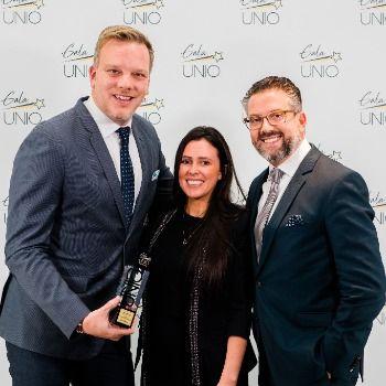 Substance et son président récompensés au Gala UNIO 2019