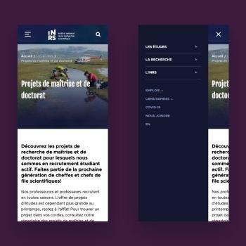Kryzalid réalise le nouveau site web de l'INRS