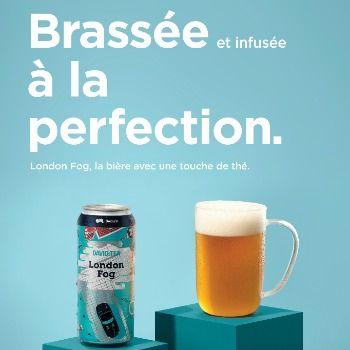 Open dévoile une nouvelle campagne pour le lancement de la bière «London Fog»
