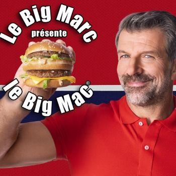 Une campagne de McDonald's met en vedette Marc Bergevin