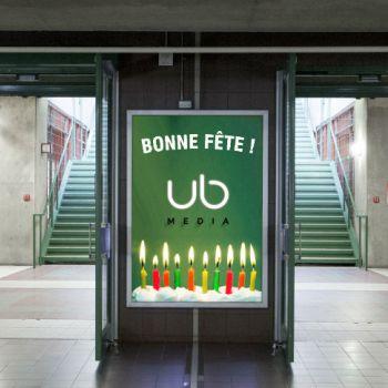Bientôt dix ans pour UB Média !