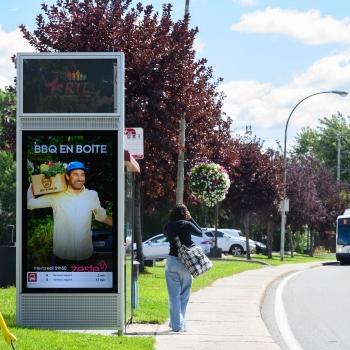 Québecor offre son mobilier numérique sur la Rive-Sud de Montréal