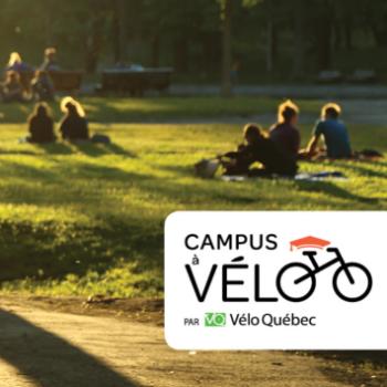 Vélo Québec lance la campagne de mobilisation provinciale «Campus à vélo»