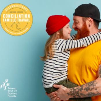 Une première agence marketing obtient le Sceau de reconnaissance conciliation famille-travail