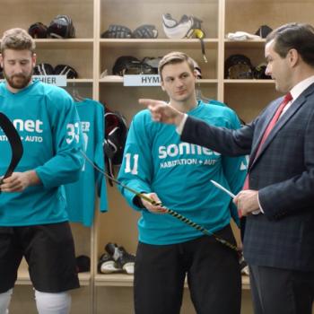 Sonnet Assurance montre l'évolution du hockey dans une nouvelle offensive