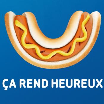 Des saucisses hot dog pour plus de bonheur