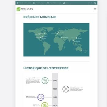 Kryzalid revitalise le site web de Solmax
