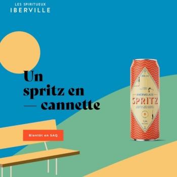 Sparkling et Amplio réalisent le nouveau site des Spiritueux Iberville