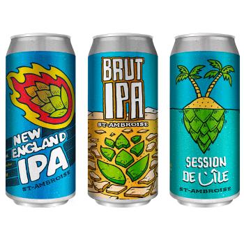 LaBase imagine l'image d'une nouvelle bière McAuslan