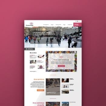 Alias Clic réalise le nouveau site web de Communagir
