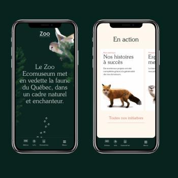 Deux Huit Huit revitalise le site web du Zoo Ecomuseum