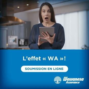 Une nouvelle campagne publicitaire qui crée un effet «Wa!»
