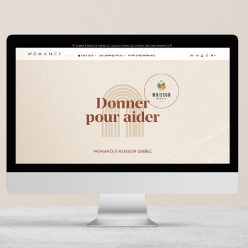 Womance lance une campagne pour supporter Moisson Québec
