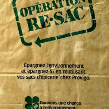 Histoire Publici-Terre : Opération Re-Sac de Provigo